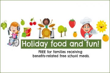 Holiday Food and Fun programme to launch at Easter across East Sussex on Eastbourne Bournefree website