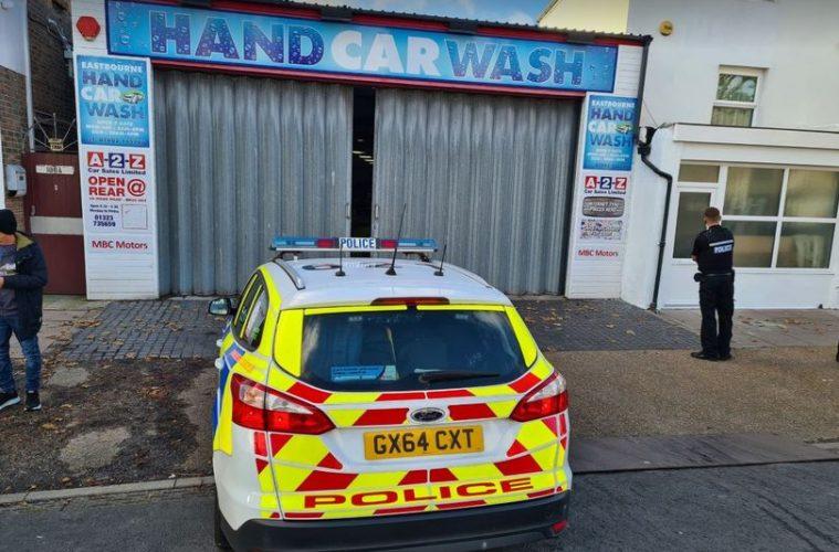 Eastbourne Hand Car Wash to reopen five months after Covid fine, Ben Saber, on Eastbourne Bourmefree website