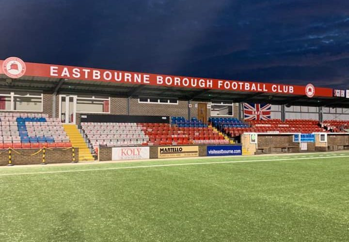 Eastbourne Borough FC suspends all youth training as Covid 'runs rife' in our schools on Eastbourne Bournefree website live
