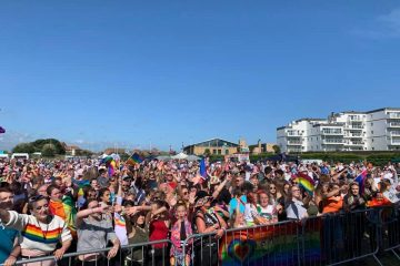 'Homophobic' thief steals Eastbourne Pride posters on Eastbourne Bournefree website