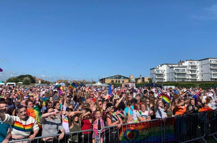 Eastbourne Pride launches new website for 2021 on Eastbourne Bournefree website