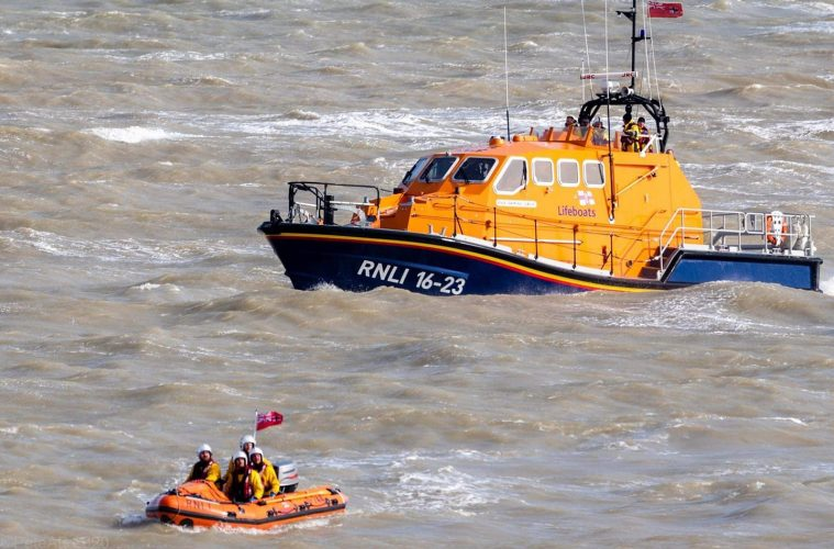 Eastbourne RNLI called out twice today: body recovered from Beachy Head on Eastbourne Bournefree website