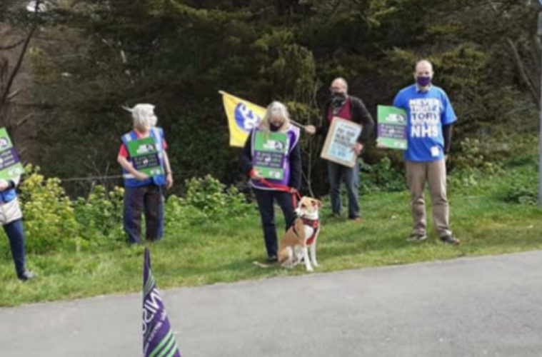 After Eastbourne DGH demo: Why low pay will be our next NHS crisis on the Eastbourne Bournefree website