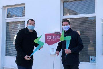 Lightning Strikes Eastbourne Chamber of Commerce and Eastbourne BID HQ! on Eastbourne Bournefrree website
