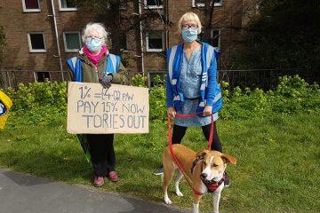 Eastbourne DGH staff demo for better pay on Eastbourne Bournefree website