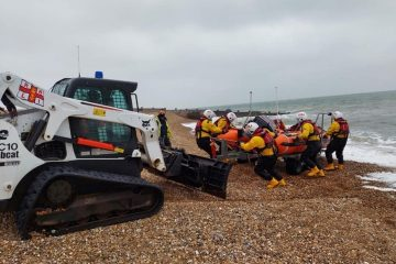 Eastbourne Police, RNLI and Coastguards search for 'missing person' on Eastbourne Bournefree website