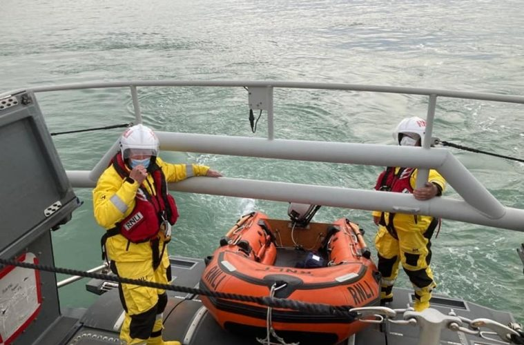 Eastbourne RNLI warn 'check tide times' after rescues between Holywell and Birling Gap on Eastbourne Bournerfree website