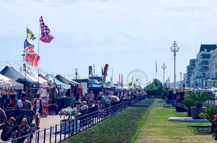 Eastbourne's seafront market returns on Thursday on Eastbourne Bournefree website