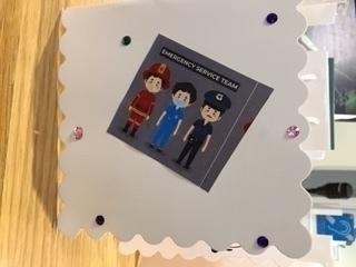 Emergency services receive a special thank you from Eastbourne care home, Mortain Place, on Eastbourne Bournefree website