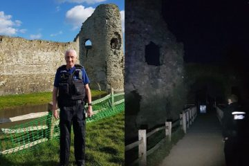 Extra police presence after anti-social behaviour at Pevensey Castle on Eastbourne Bournefree website