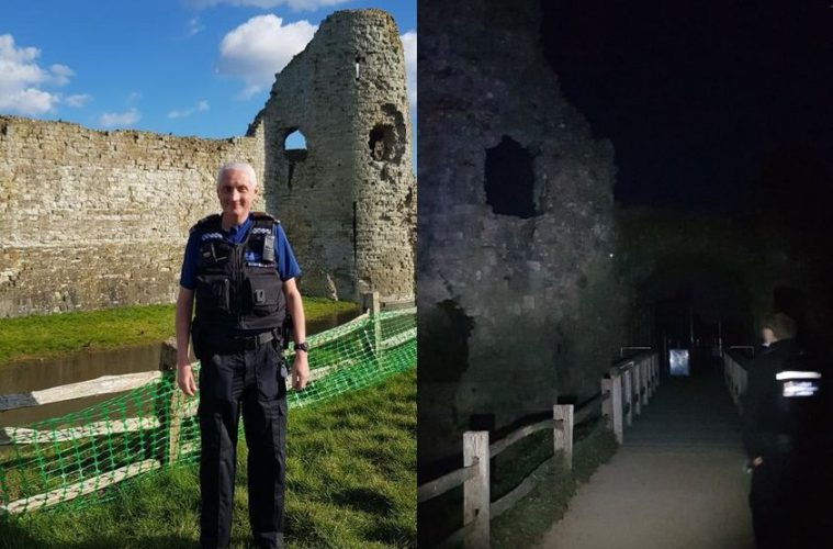Extra police presence after anti-social behaviour at Pevensey Castle on Eastbourne Bournefree website