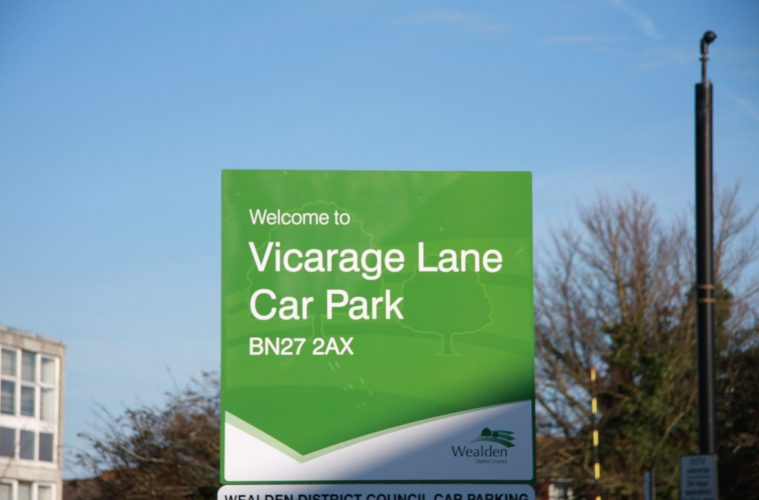 Car parking charges are back across Wealden from Monday on Eastbourne Bournefree website