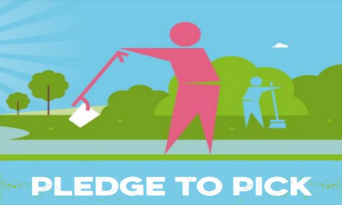 Wealden District Council on Eastbourne Bournefree website: The Great British Spring Clean 2021 is coming. Sign up now!