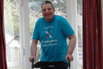Robert takes on his biggest ever challenge inspired by Captain Sir Tom Moore on Eastbourne Bournefree website