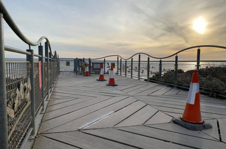 Staircase at Birling Gap will be closed from Monday 19 April until Friday 30 April on Eastbourne Bournefree website