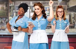 First ever UK tour of smash hit musical comedy Waitress is coming to Eastbourne on Eastbourne Bournefree website