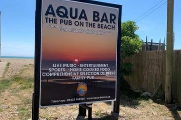 Huge Aquafest live music day planned for August in Pevensey Bay on Eastbourne Bournefree website