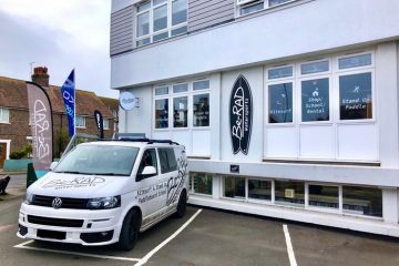 Be-Rad Watersports opens new shop in Pevensey Bay on Eastbourne Bournefree website