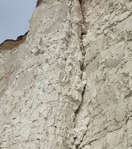 Warning issued after tourists were spotted on Birling Gap cliff edge on Eastbourne Bournefree website