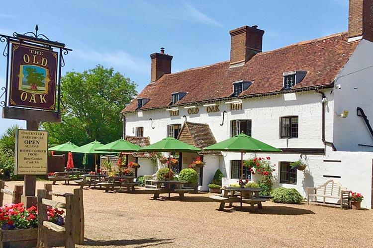 The Old Oak Inn on Bournefree Live news website