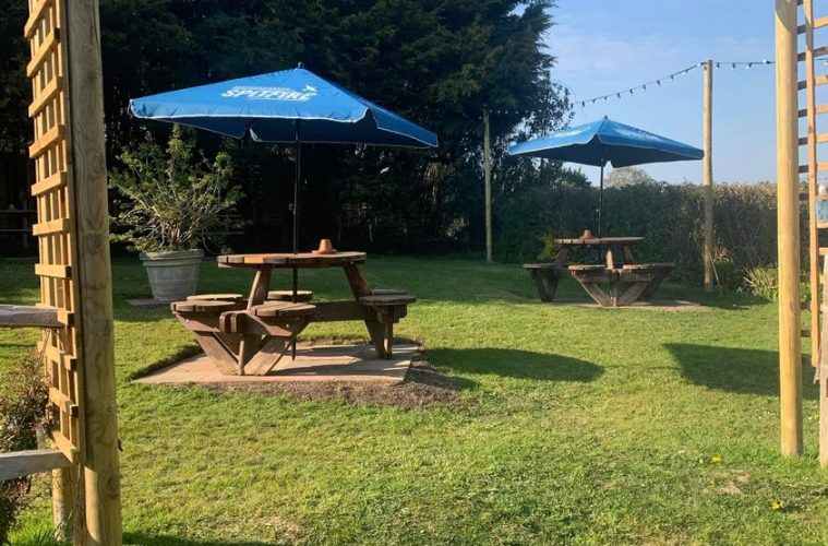 Popular pub reopens tomorrow - with a fab new garden, on Eastbourne Bournefree website, Brewers Arms