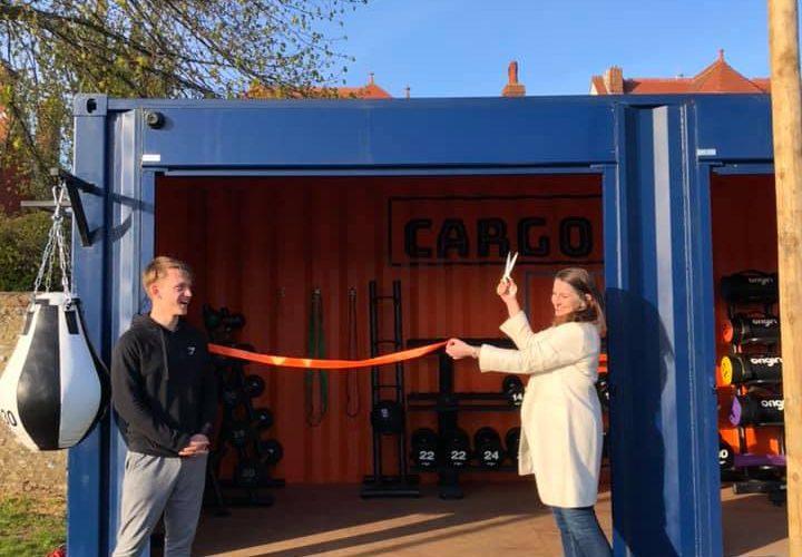 Caroline opens exciting new Eastbourne business 'Cargo Gym' on Eastbourne Bour nefree website