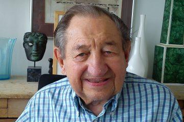 Birthday wishes for oldest living former pupil Derek Granger on Eastbourne Bournefree website