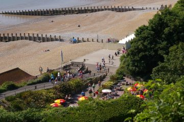 Eastbourne's Holywell Retreat named among the top beaches near London on Eastbourne Bournefree magazine