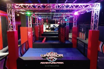 Ninja Warrior Adventure Park Eastbourne reopens on April 12 on Eastbourne Bournefree website
