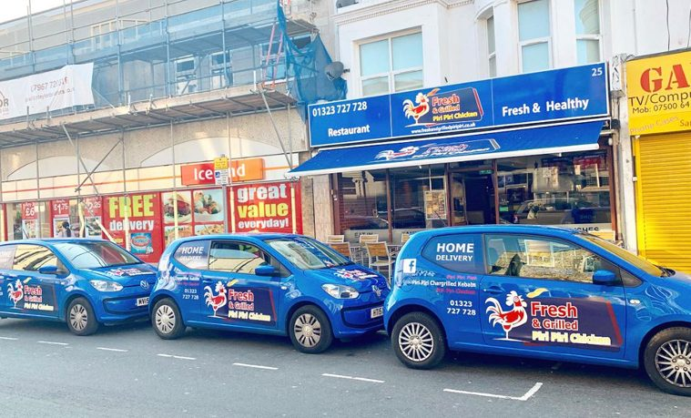 Fresh & Grilled Piri Piri in Langney Road opens on April 12 on Eastbourne Bournefree website