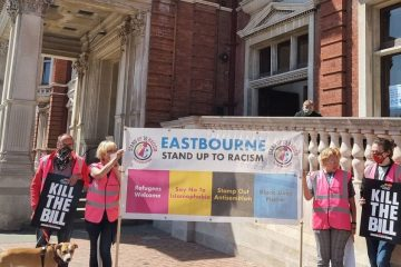Kill The Bill protest in Eastbourne at 1pm: Will you be going?on Eastbourne Bournefree website