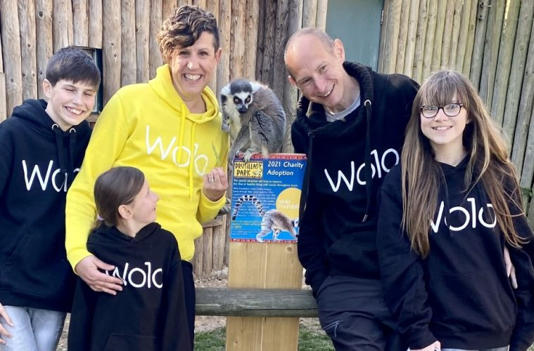 Wolo named as Drusillas Park's Charity of the Year 2021 on Eastbourne Bournefree website