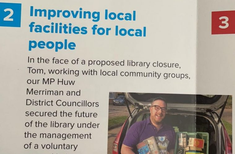 Are the Tories lyeing about their role in saving Pevensey Bay library? on Eastbourne Bournefree website