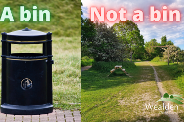 Do the right thing! Find a bin or take it home on Eastbourne Bournefree website