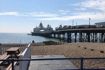 Eastbourne Pier's Arcade Department has been completely refurbished on Eastbourne Bournefree website