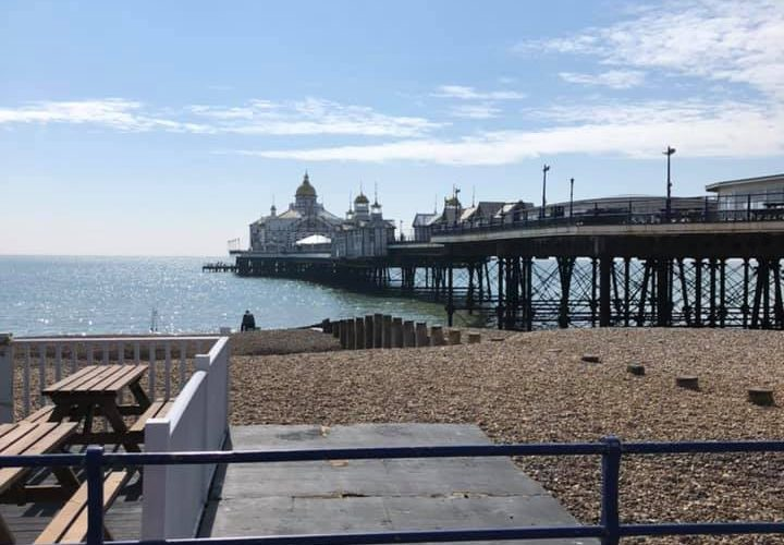 Eastbourne Pier's Arcade Department has been completely refurbished on Eastbourne Bournefree website