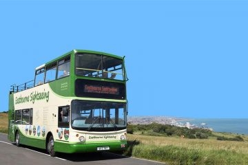 Eastbourne's Open Top Bus is back! on Eastbourne Bournefree magazine