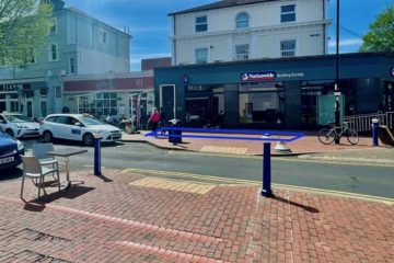 'Council jobsworths strike again' in Eastbourne Town Centre outdoor seating row on Eastbourne Bournefree website