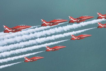 Red Arrows to return to the South coast's airshows - but sadly not Eastbourne on Eastbourne Bournefree website