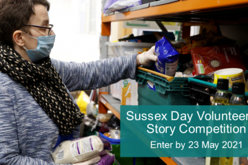 Enter the 3VA Volunteering Story Competition today on Eastbourne Bournefree website