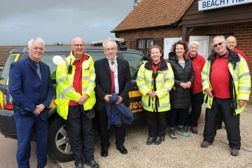 The Queen says thank you to Eastbourne charity on Eastbourne Bournefree website: Beachy Head Chaplaincy Team