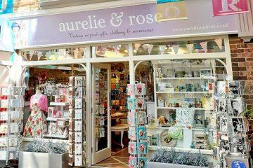 Aurelie and Rose: A lovely gift and clothing shop in Eastbourne's Enterprise Centre on Eastbourne Bournefree website
