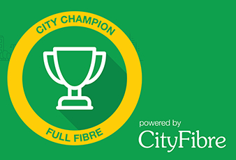 Eastbourne's CloudConnX appointed City Champion for town by CityFibre on Eastbourne Bournefree website