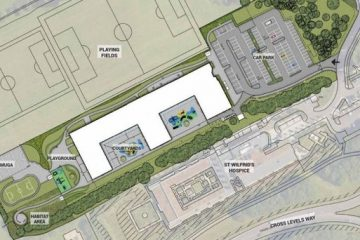 Eastbourne will finally be getting a new purpose-built special school behind St Wilfrid's Hospice on Eastbourne Bournefree website