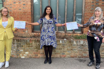 Nus Ghani MP re-launches the Wealden Hero Award on Eastbourne Bournefree website