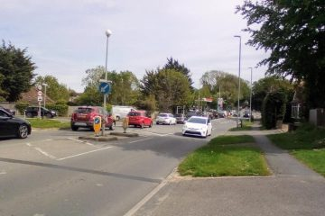 Traffic chaos in Eastbourne: Emergency workers at The Triangle 'not back until Tuesday on Eastbourne Bournefree website
