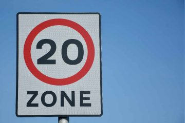 20mph speed limits on 'urban and village roads' in East Sussex on Eastbourne Bournefree website