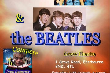 The songs of Abba & the Beatles to support Macmillan Cancer Support on Eastbourne Bournefree website