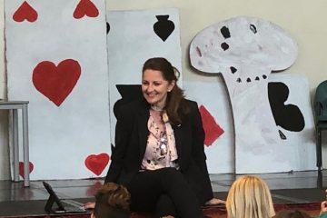 Eastbourne and Willingdon MP Caroline Ansell visits West Rise Junior School in Langney on Eastbourne Bournefree website