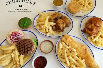 Churchill's Fish and Chip shop is opening in Langney Shopping Centre on July 5 on Eastbourne Bournefree website